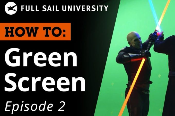 How To: Green Screen (Educational Videos)